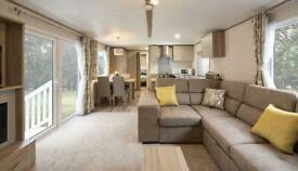 8 berth new static caravan for sale at Trecco Bay in Porthcawl