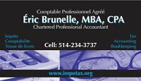Impôt: 50$ par un Comptable Professionnel Agréé CPA, CMA
