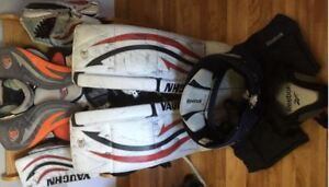 Goalie Gear  for sale Pads-BlockerTrapper -Pants-Chest Protector