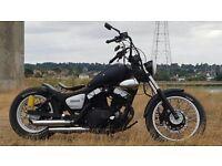 Custom Yamaha Virago XV125 bobber low rider LEARNER LEGAL