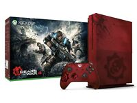 xbox one s gears of war limited edition console
