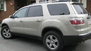 2010 GMC Acadia. Low mileage, in excellent condition.