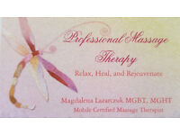 Mobile Professional Massage Therapy