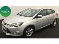 £152.46 PER MONTH SILVER 2013 FORD FOCUS 1.6 ZETEC 5 DOOR PETROL AUTOMATIC
