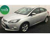 £165.72 PER MONTH SILVER 2013 FORD FOCUS 1.6 ZETEC 5 DOOR PETROL AUTOMATIC