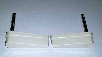 Bally Williams Pinball Machine White Flipper Bats Set Of 2 20-10110-5 20-9250-5