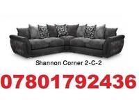 brand new dfs Shannon corner sofa + delivery