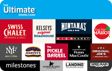 Buy a $115 Ultimate Dining Card For $99 –Swiss Chalet, Harvey's & More - EMAILED