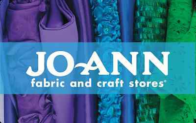 Jo Ann Fabric And Craft Stores Gift Card    25  50  100   Email Delivery