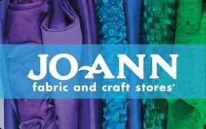 Jo ann fabric and craft stores gift card 25 50 100 email for Jo ann fabric and craft coupons
