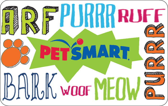 PetSmart Gift Card - 25 50 Or 100 - Email Delivery - $25.00