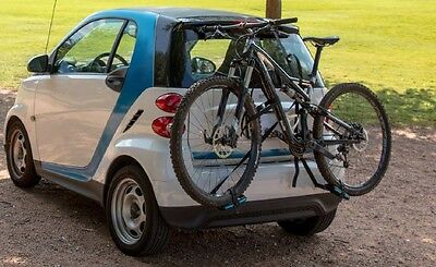 Free2go Bike Rack For Smart Car   Lightweight  Compact  Installs In Minutes