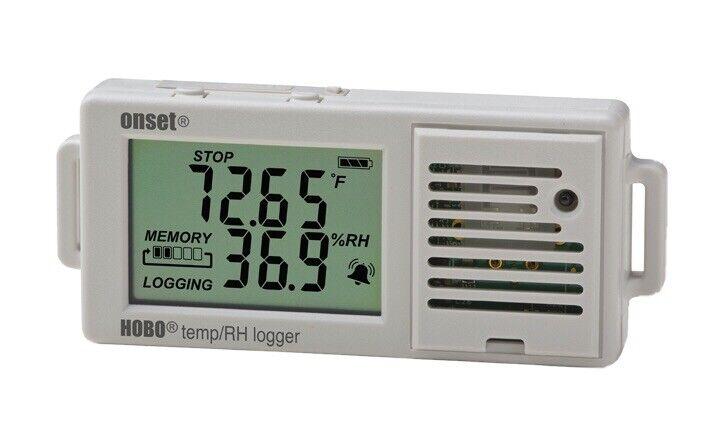 Hobo Ux100-003 Data Logger, Temperature And Humidity, Usb. 1 Data Logger