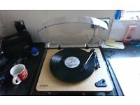 Ion air lp bluetooth record player, 2 months old, mint condition no box,selling due to upgrade