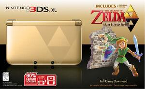 The Legend of Zelda A Link Between Worlds 3DS XL Console
