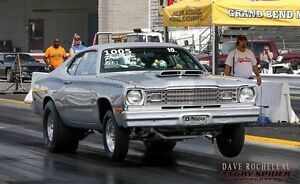 1974 Plymouth duster race car