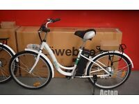 LoweBike Electric Bike, White, comes with all charging equipment and still boxed