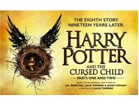 Harry Potter and the Cursed Child tickets - Saturday 3rd September - both parts - x2 tickets