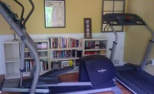 Commercial style Eliptical Trainer and Treadmill COMBO