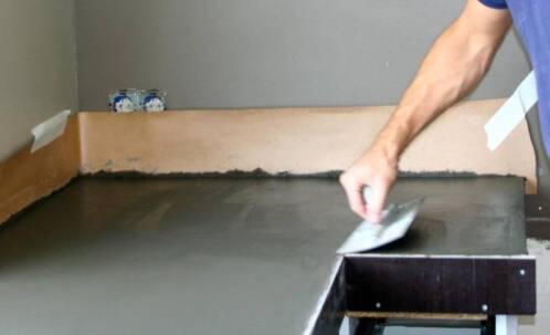 Betonnen Blad Badkamer : Conception architecture beton tafel bladen betoncreation toevoegen