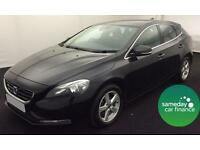 ONLY £189.56 PER MONTH BLACK 2012 VOLVO V40 1.6 D2 SE 5 DOOR DIESEL MANUAL