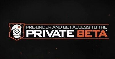 Call of Duty Black Ops 4 / PC PS4 Xbox One BETAs Key Code