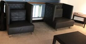 Sofa and Armchair for Home or Office