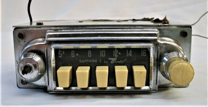 Vintage VW Radio  Sapphire I by Bendix - Untested