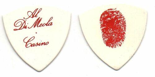 AL DI MEOLA Guitar Pick - 1978 Casino Tour - Al Di Meola Signature Finger Print