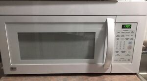 Wall mount microwave