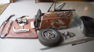 1968 Volvo P1800 Parts for Sale