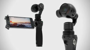 DJI OSMO with multiple accessories