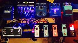 Guitar FX pedals for sale