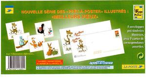 5 enveloppes pré-timbrées de France  (  CHAT )