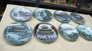 "Imperial Jingdezhen  ""Summer Palace"" Series Plates China"
