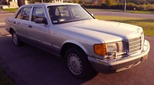 1987 Mercedes 560 SEL - Parting Out
