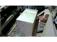 Solid wood chest / toy box
