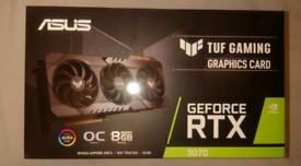 Rtx 3070 Brand new! 😁👍ASUS TUF