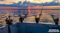 PROFESSIONAL FISHING CHARTERS LAKE ONTARIO - GUARANTEED FISH!