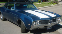 Mint Condition 1969 Oldsmobile 442 Convertible