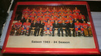 1983-84 Montreal Canadiens Team pic - mounted,ready to display