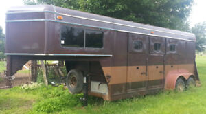 Horse trailer or convert to toy trailer