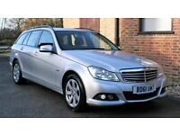 2011/61 MERCEDES C220CDI SE EDITION ESTATE CAR. FULL MERCEDES SERVICE HISTORY