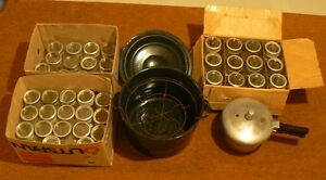 Canning Items (Jars, Canner, Pressure Cooker)