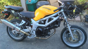 1999 Suzuki SV650  naked conversion project