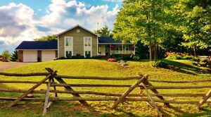 Beautiful country property 15 min from Almonte