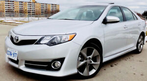 TOYOYA CAMRY SE I4 2014 (FULLY LOADED) -ACCIDENT FREE-CERTIFIED