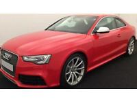 Red AUDI RS5 COUPE 4.2 FSI Petrol QUATTRO S-T FROM £149 PER WEEK!