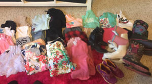 Girls Lot of Clothes Size 8, clean smoke free home