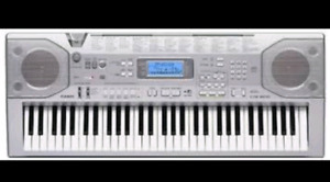 CASIO CTK-800 ELECTRONIC KEYBOARD W AC ADAPTER